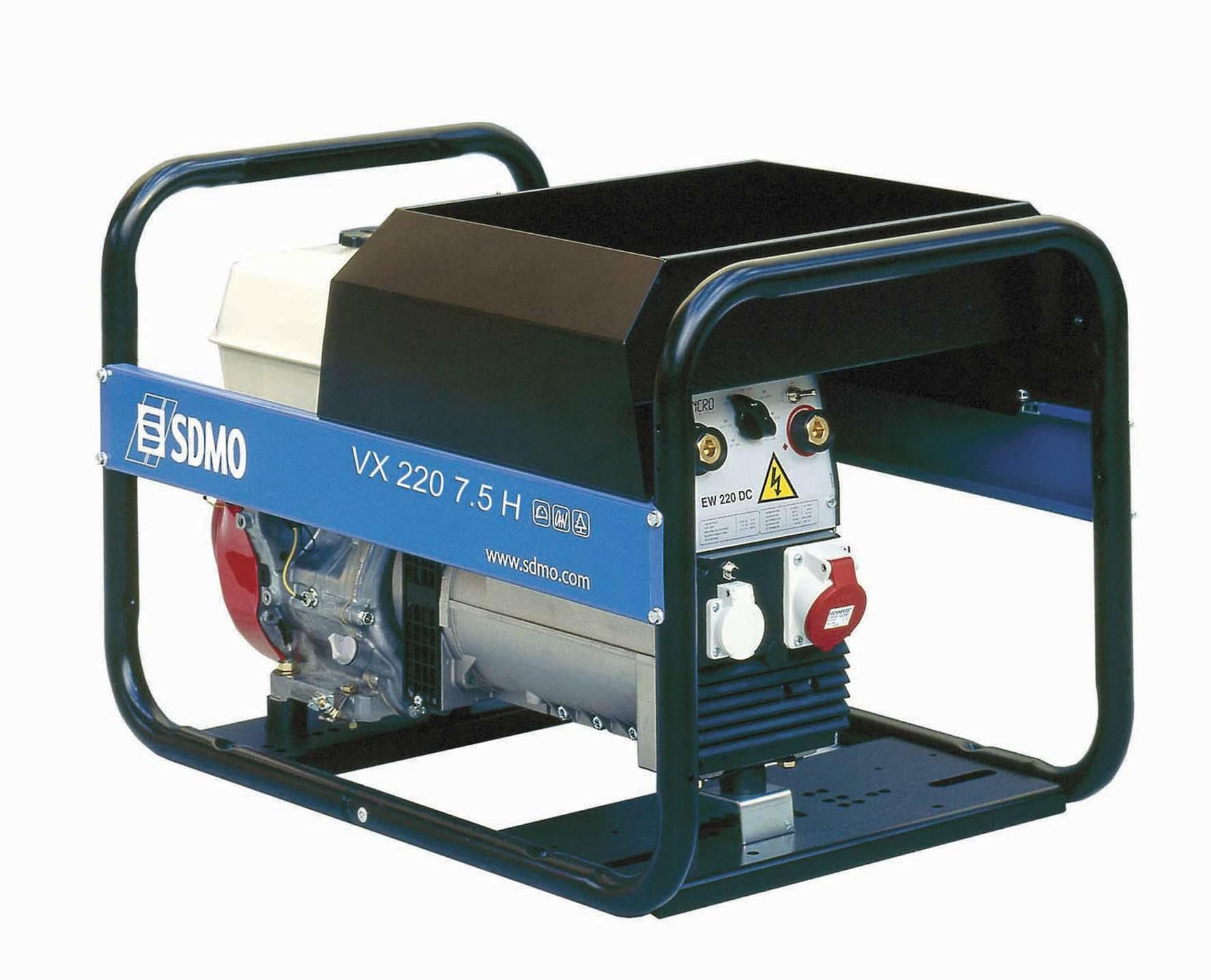 sdmo vx 220 7 5 hс руководство по эксплуатации